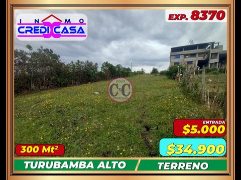 cxc venta terreno turubamba alta exp 8370