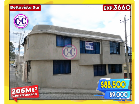 cxc venta casa independiente bella vista sur exp 3660