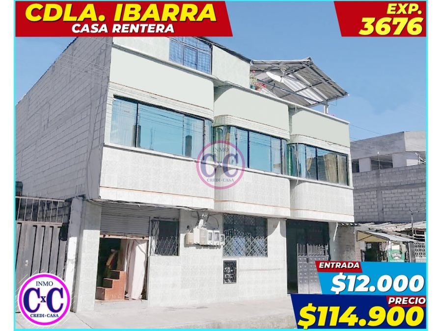 cxc venta casa rentera martha bucaran exp 3676