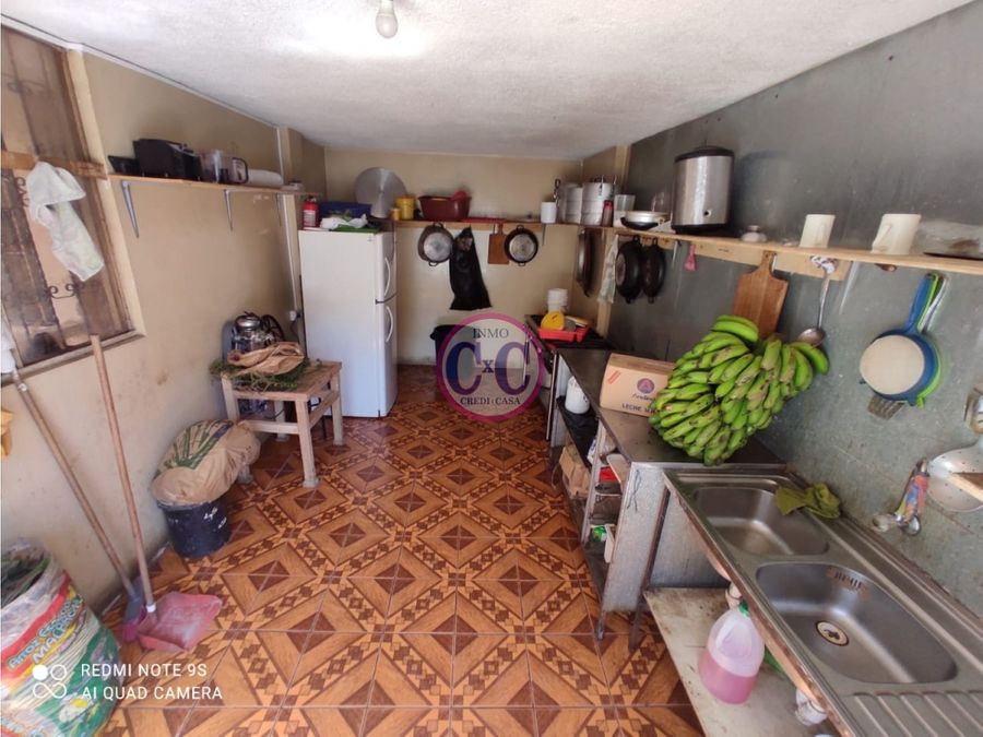 cxc venta casa rentera terreno local pueblo unido exp 3699
