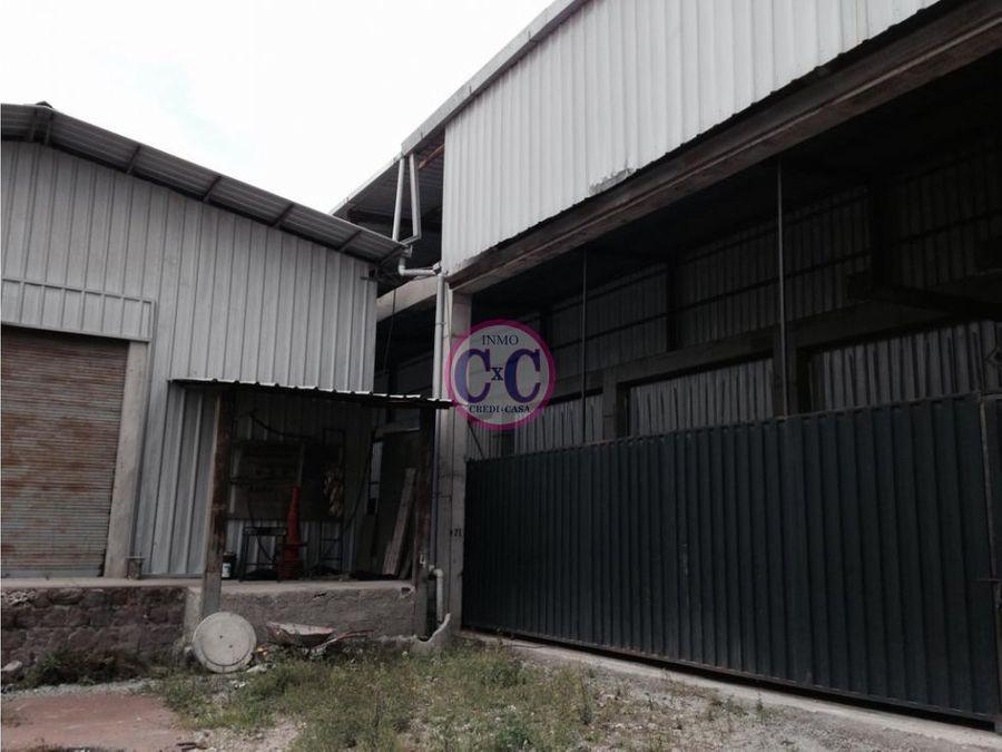 cxc venta bodega industrial san antonio exp 9034