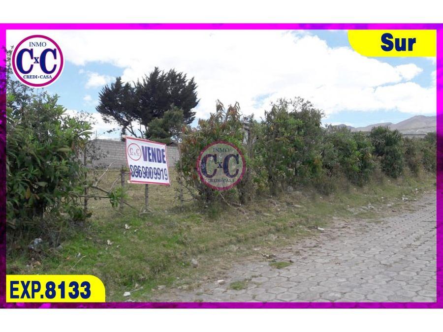 cxc venta terreno guamani exp 8133