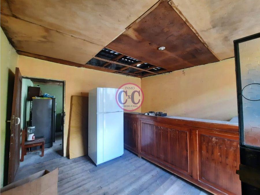 cxc venta casa con terreno la magdalena exp 3740