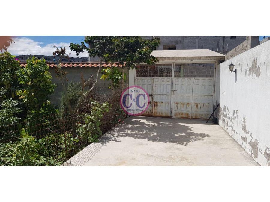cxc venta casa san jose de moran exp2382
