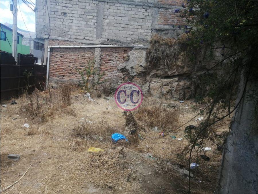 cxc venta terreno lucha de los pobre exp 8268