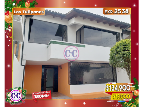 cxc venta hermosa casa en los tulipanes exp 2538