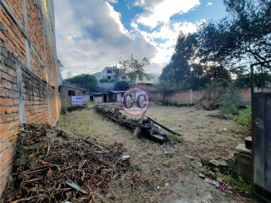 cxc venta terreno plano la ecuatoriana exp 8349
