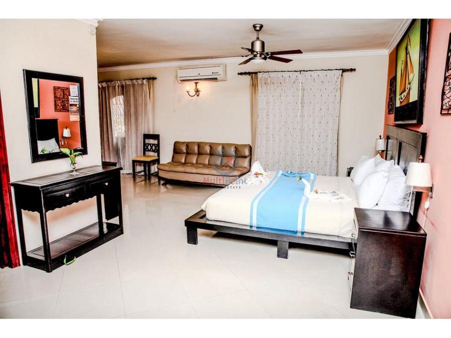 complejo mixto con hotel en bavaro punta cana