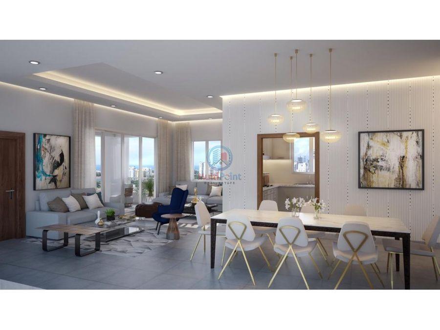 venta de apartamento sector evaristo morales