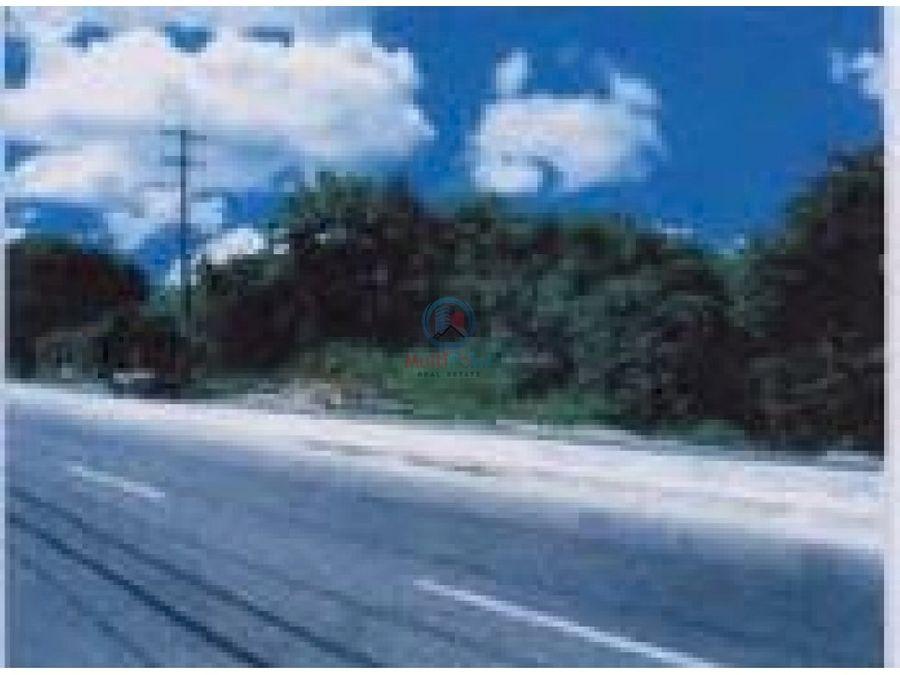 terreno en venta en la carretera mella