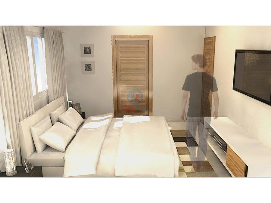 apartamento en venta en santo domingo norte