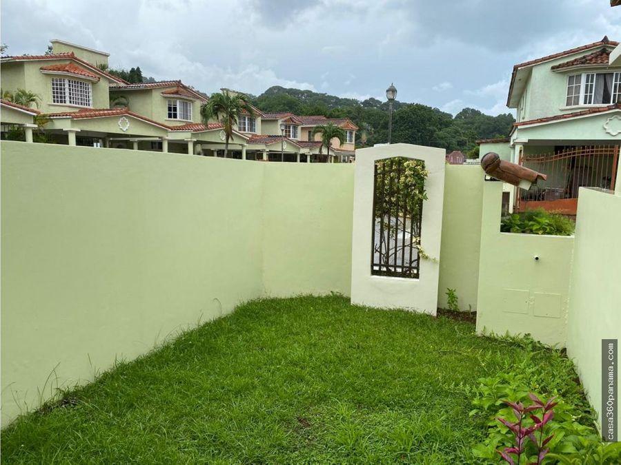 alquiler casa en albrook gardens