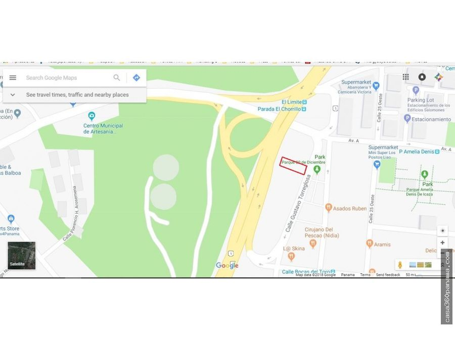 1417157 vende terreno calle 27 del chorrillo