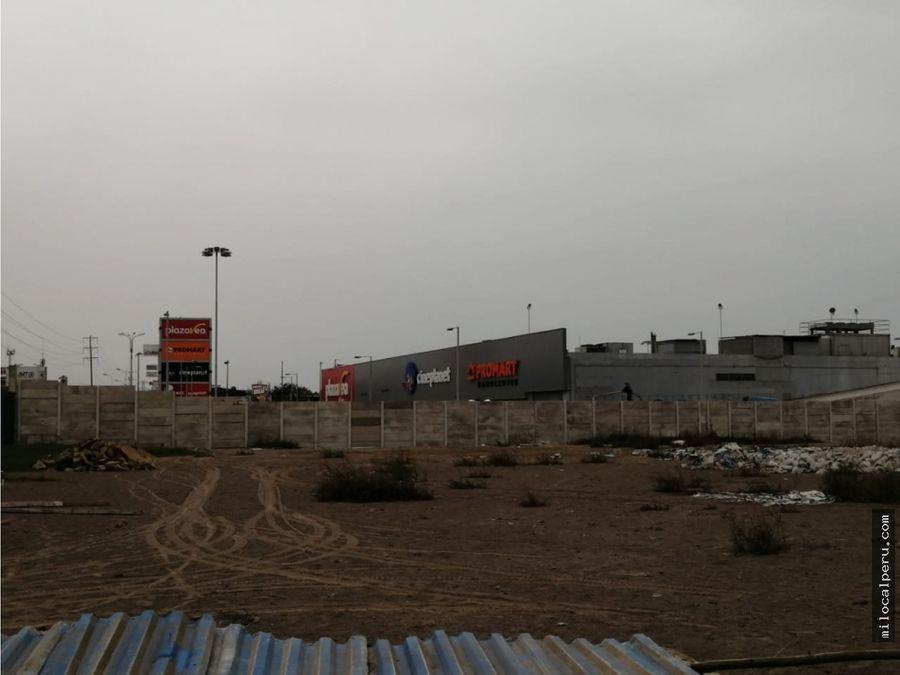 terreno comercial en lurin