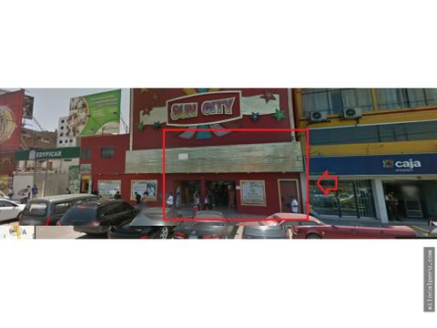 local de alto transito frente a mega plaza av alfredo mendiola