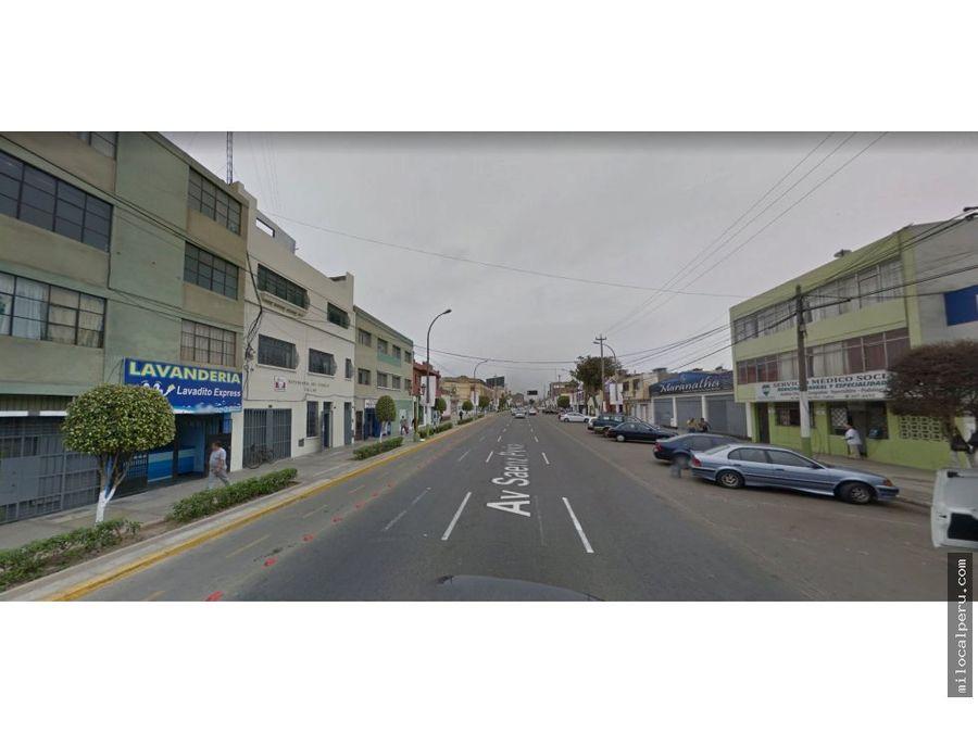 local comercial en avenida saenz pena callao