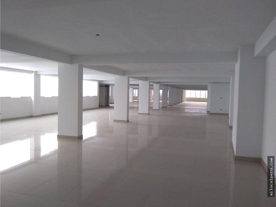 oficinas amplias en alquiler jiron ica