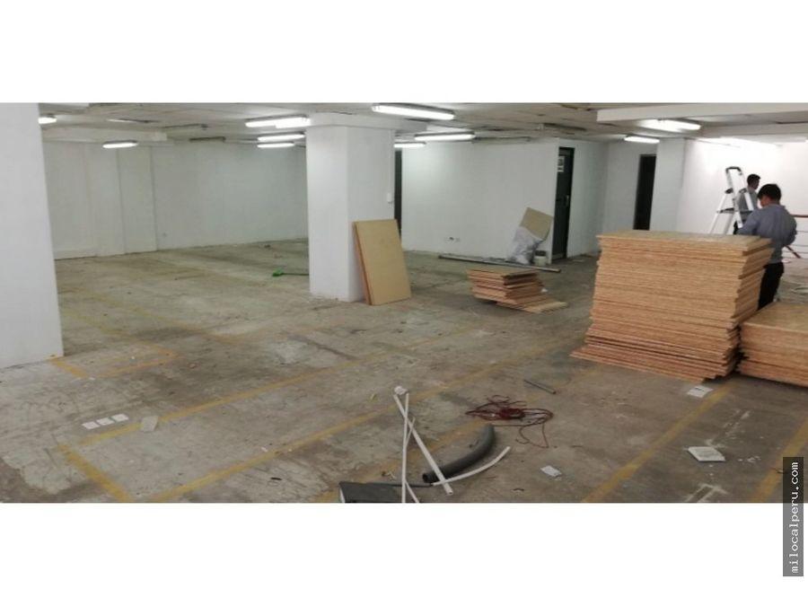 local comercial av canaval y moreyra 2do piso