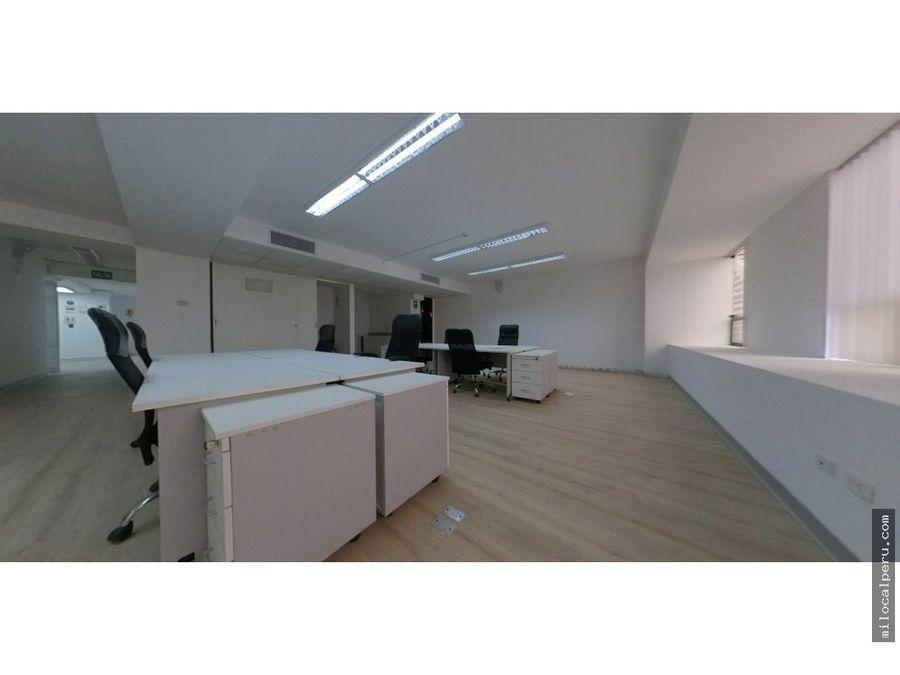 oficinas ubicadas en el centro financiero de san isidro