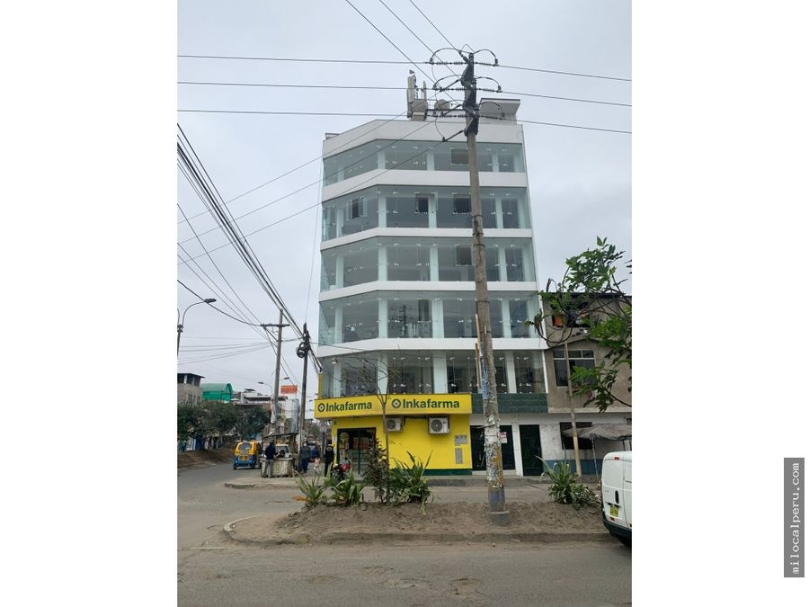 local comercial en alquiler san juan de miraflores 85 mt2