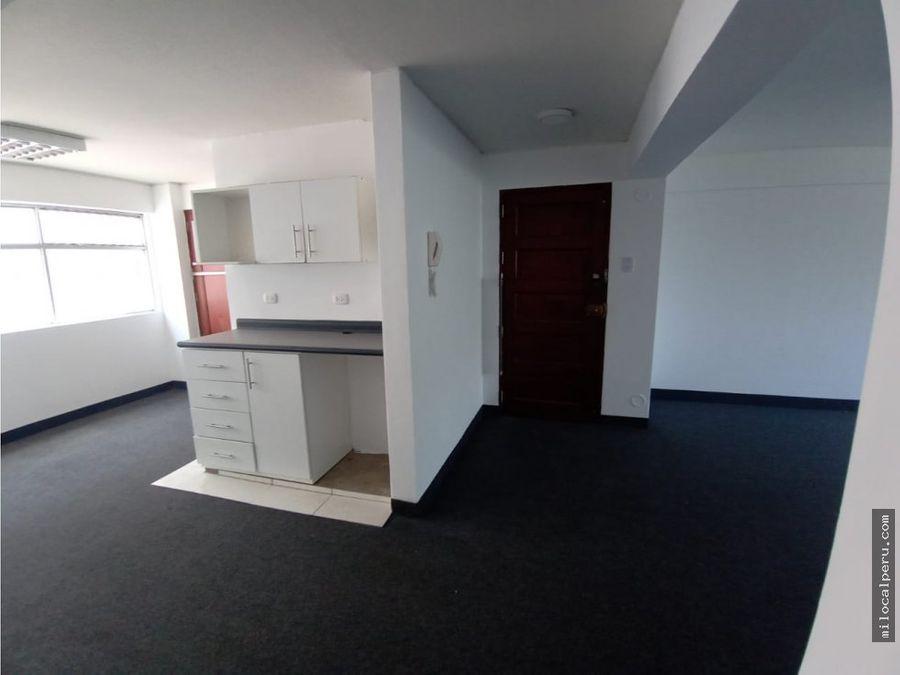 oficinas en alquiler 90 m2 exterior e interior san isidro