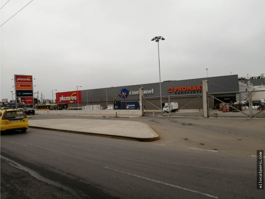 terreno comercial en lurin en alquiler