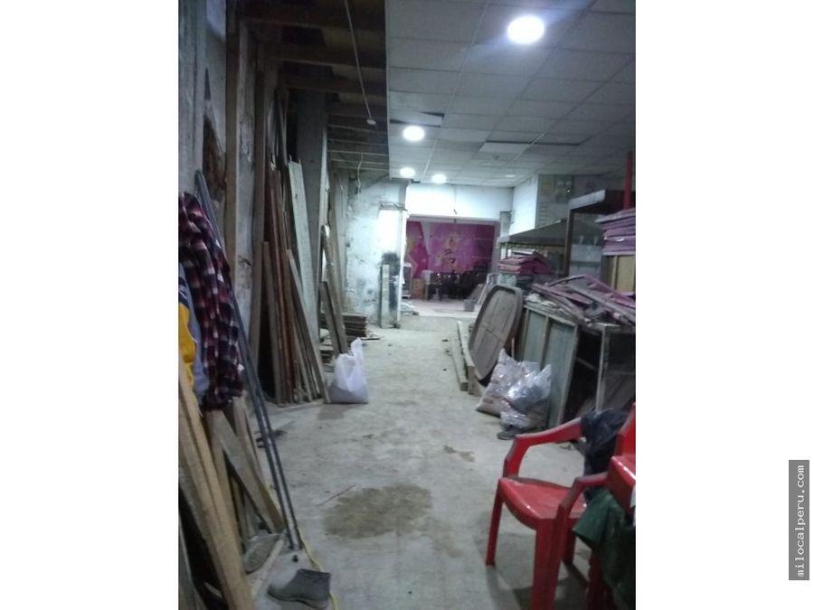 local comercial en jiron azangaro