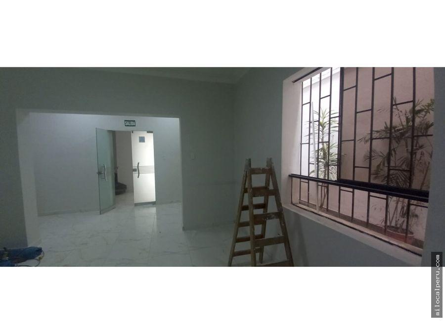 oficina en alquiler avmilitar 40 mt2 lince