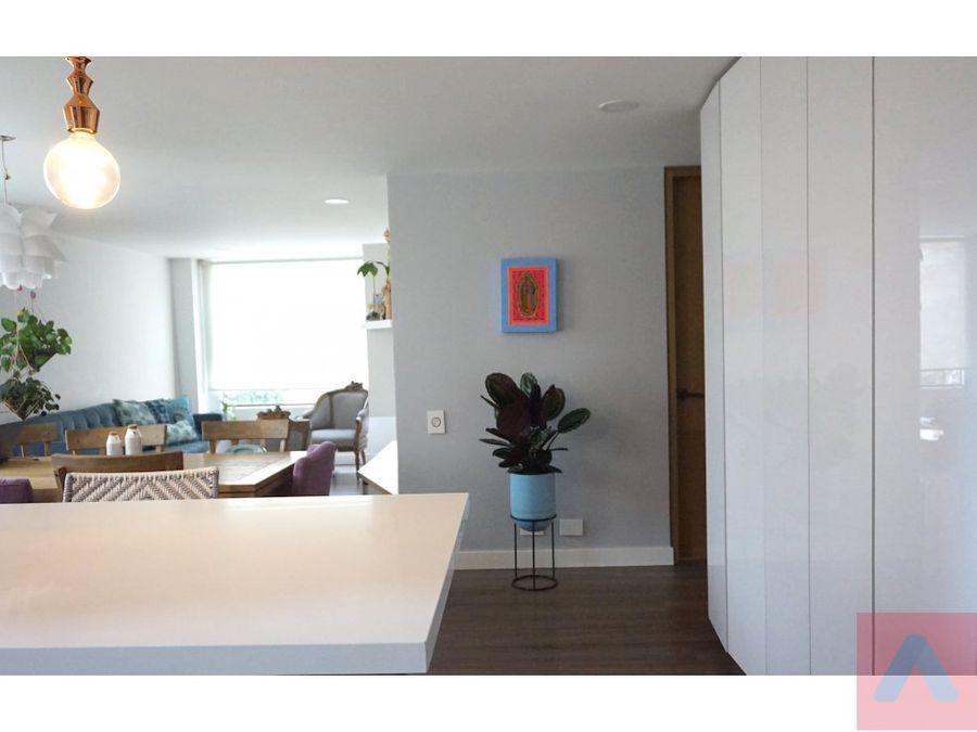 venta santa barbara central apto 3 habitaciones 105m2