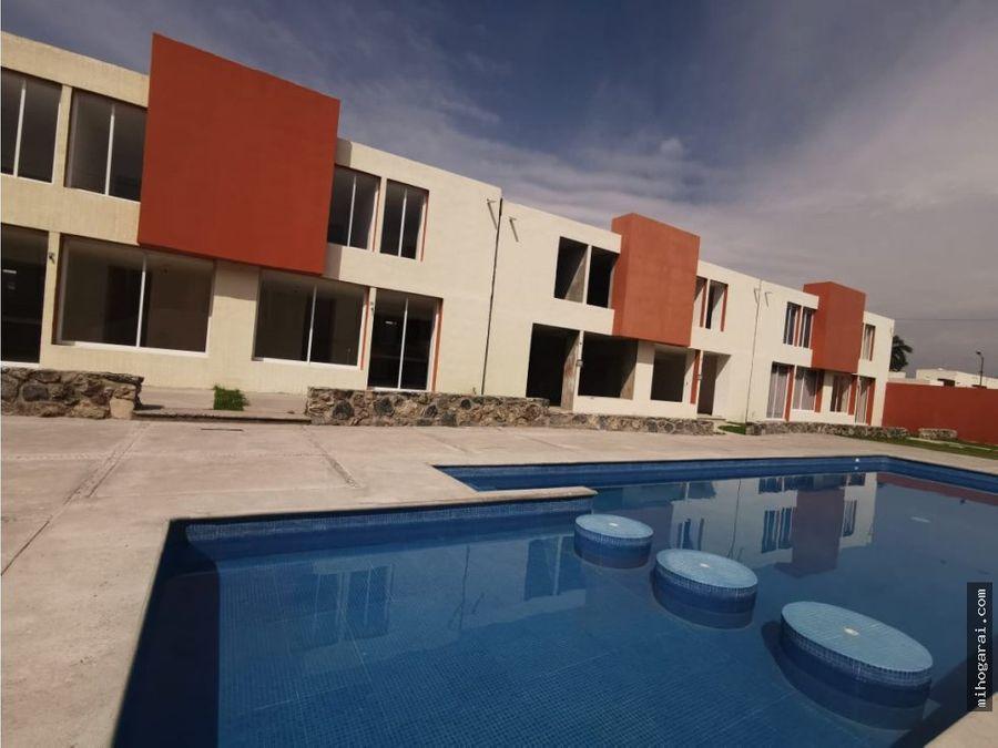 casa nueva en venta con alberca en morelos