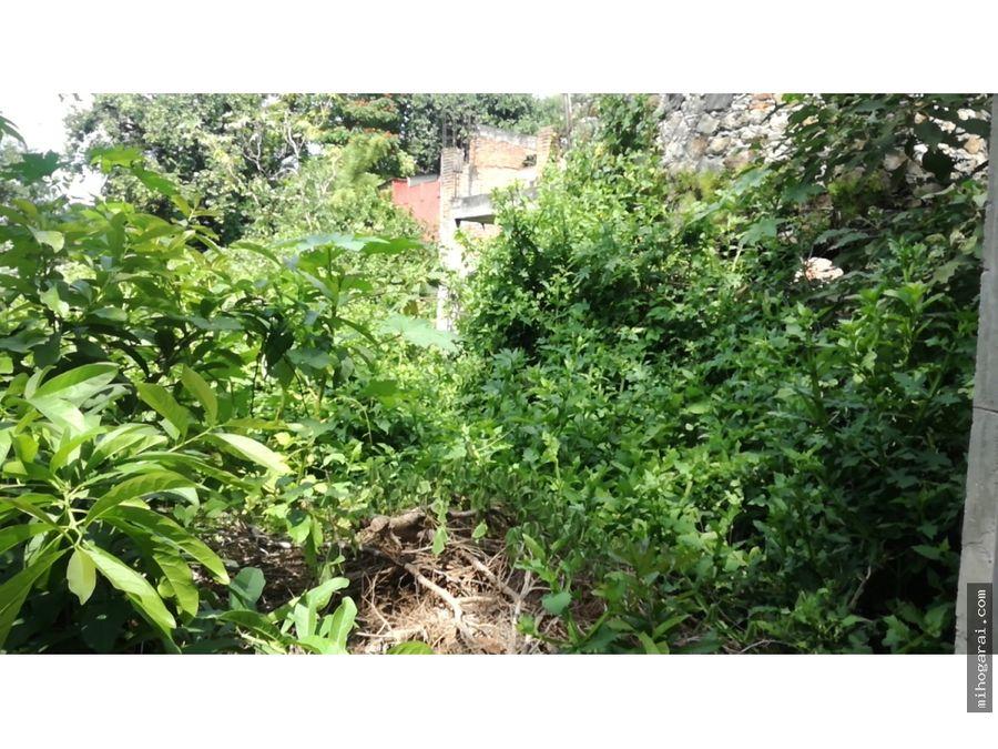 inversionista terreno en venta con escrituras en xochitepec