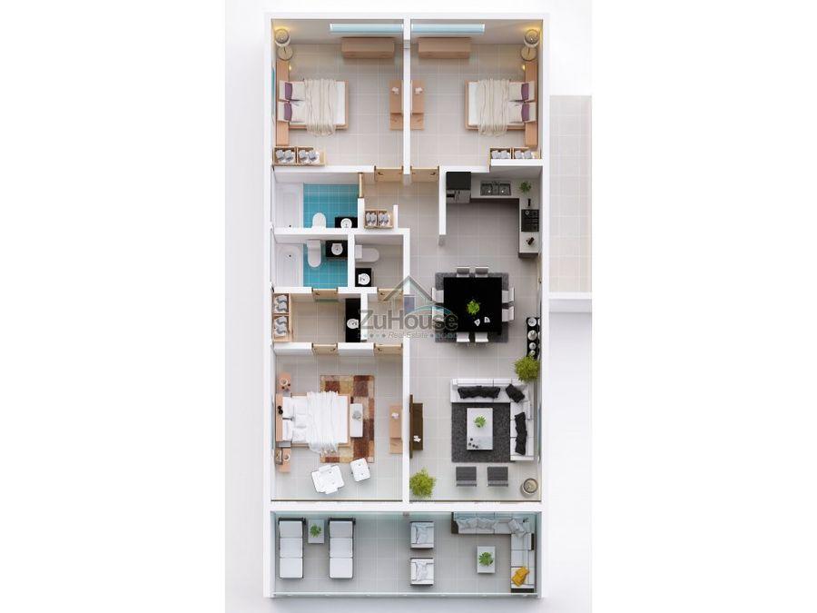 apartamento en venta cabarete puerto plata wpa43 a