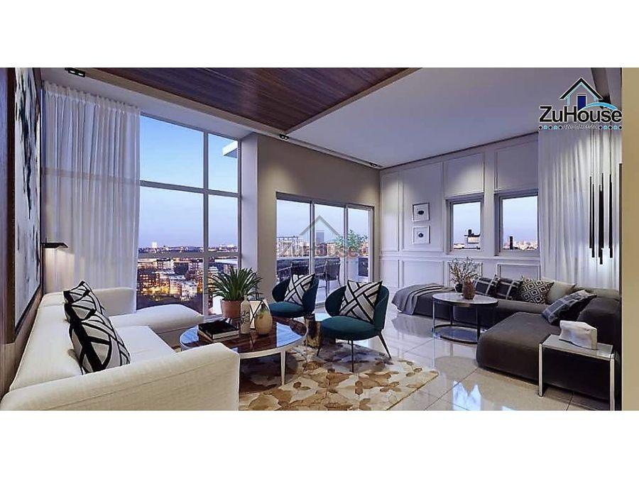 apartamento en venta en torre urb real santo dgo