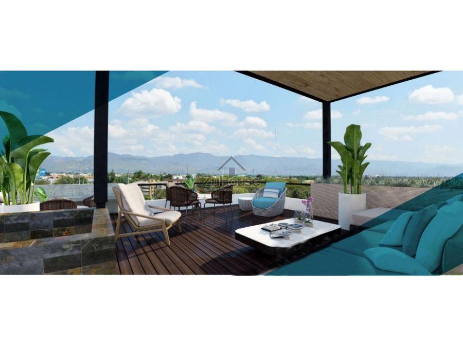 penthouse en plano en el dorado santiago wpa145