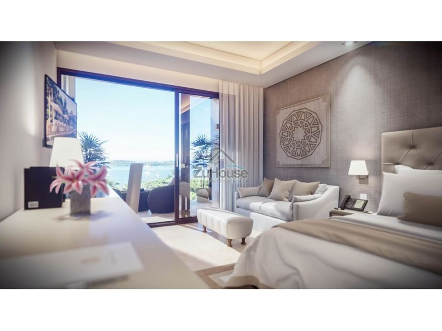 apartaestudio en venta en planos con vista al mar en samana wpa129 e3