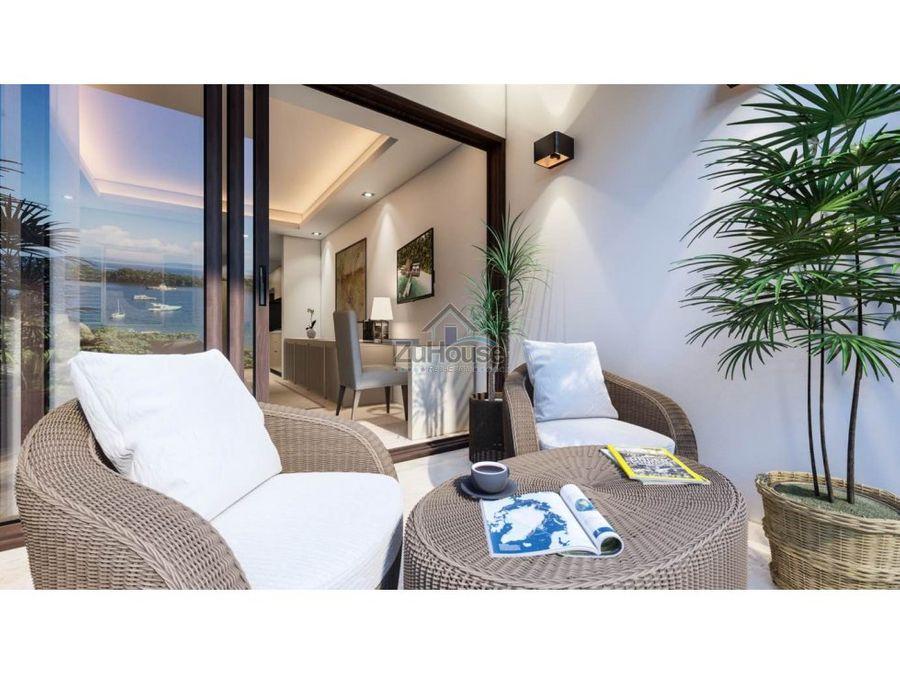 apartaestudio en venta en planos con vista al mar en samana wpa129 e2