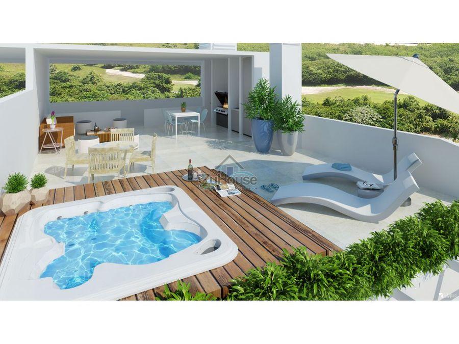 penthouse en venta en punta cana wpa101 f
