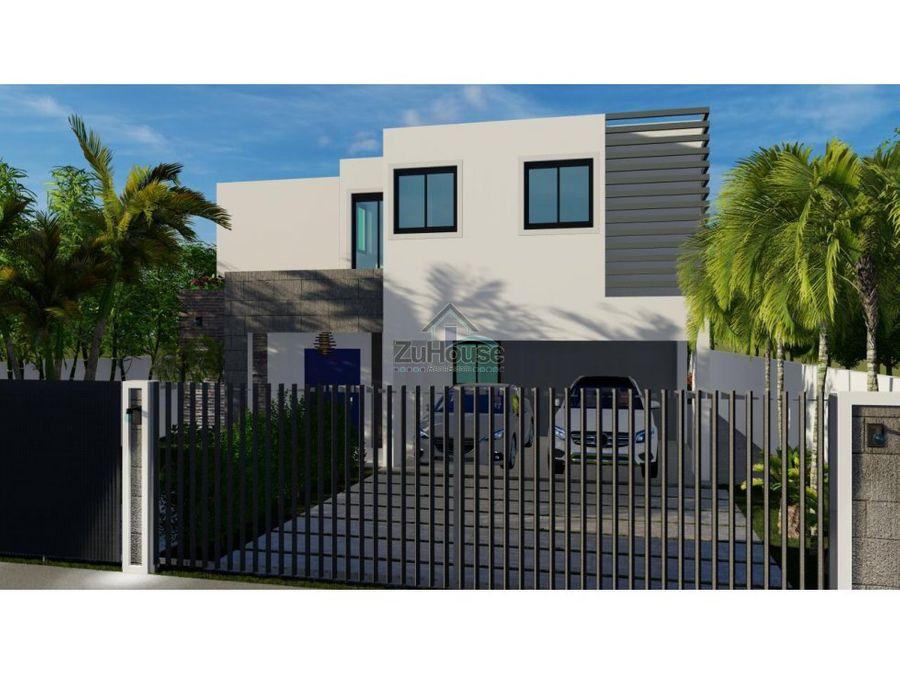 casa en construccion en venta en residencial cerrado en gurabo wpc16