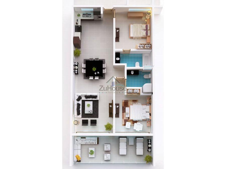 apartamento en venta cabarete puerto plata wpa43 d