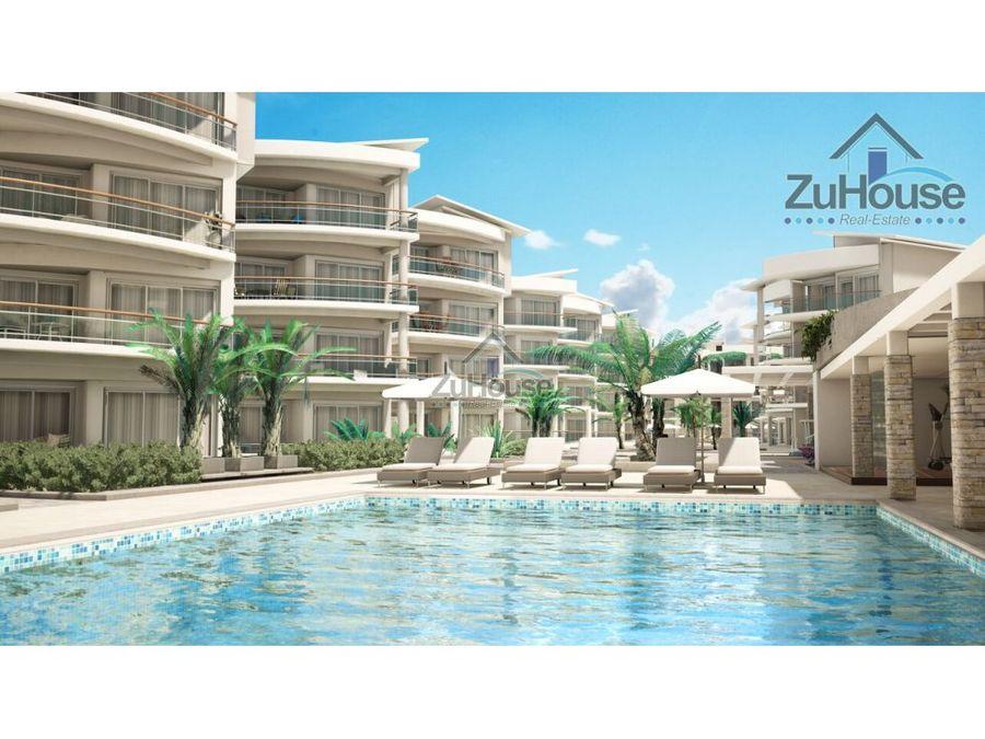 apartamento en venta frente al mar bavaro wpa76 a
