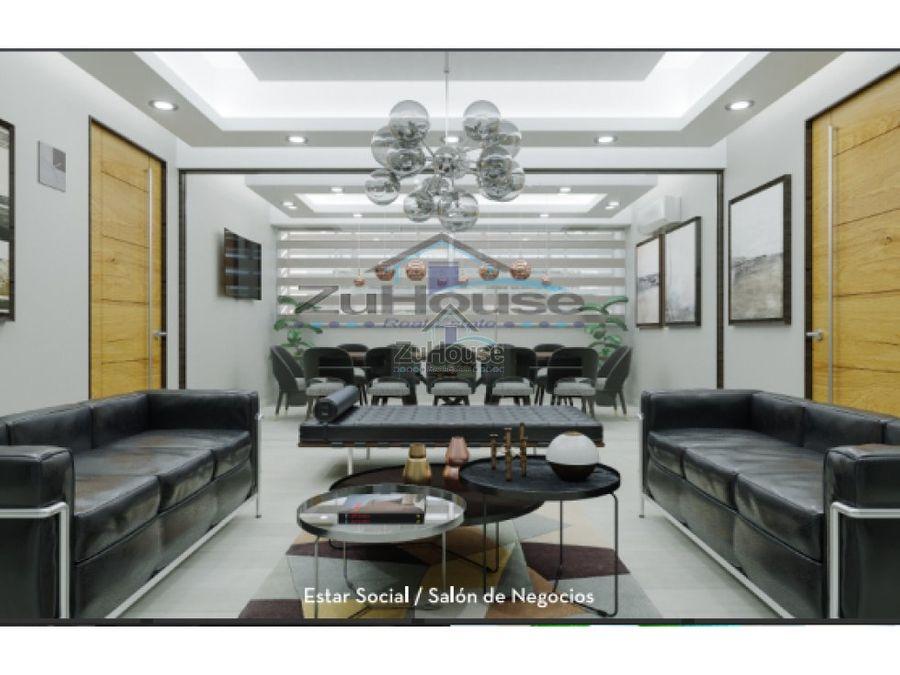 apartamento en venta la esmeralda santiago za48 c