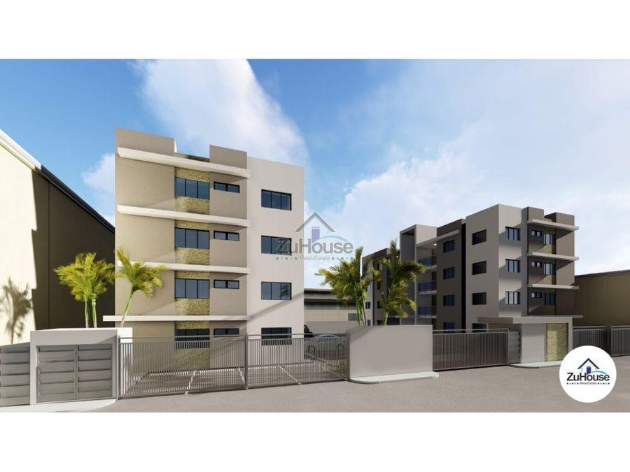 apartamento en venta gurabo santiago za34 a
