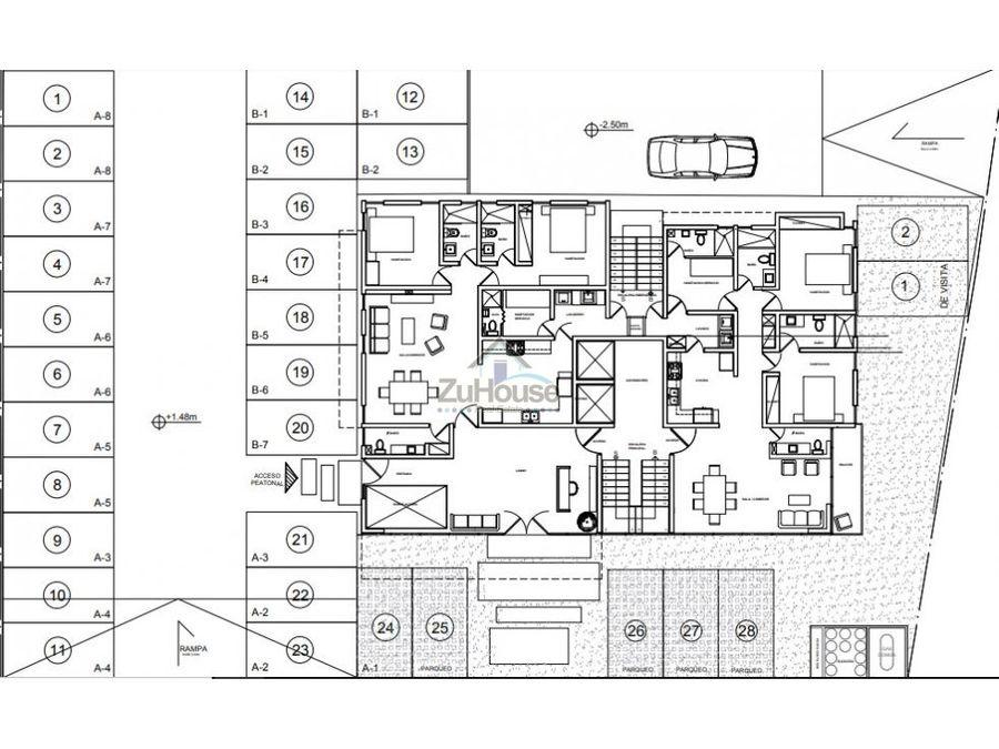 apartamento en venta en la esmeralda santiago wpa42 b
