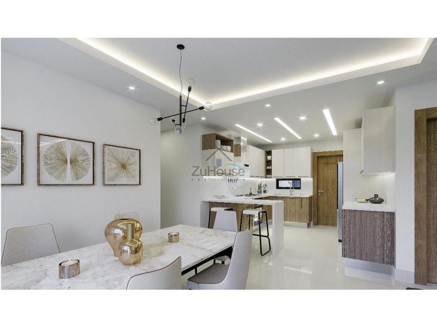 apartamento en venta en el dorado santiago de los caballeros wpa71 c