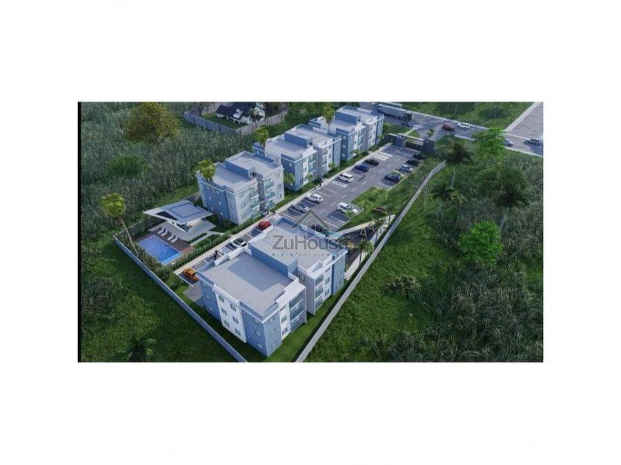apartamento en planos en venta en puerto plata wpa14