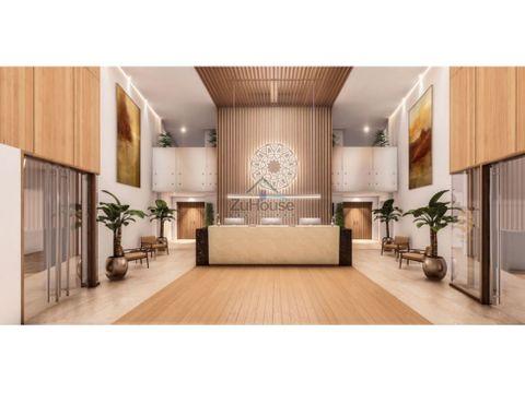 apartamento 1 dormitorio en venta en 3er nivel en samana wpa129 d3
