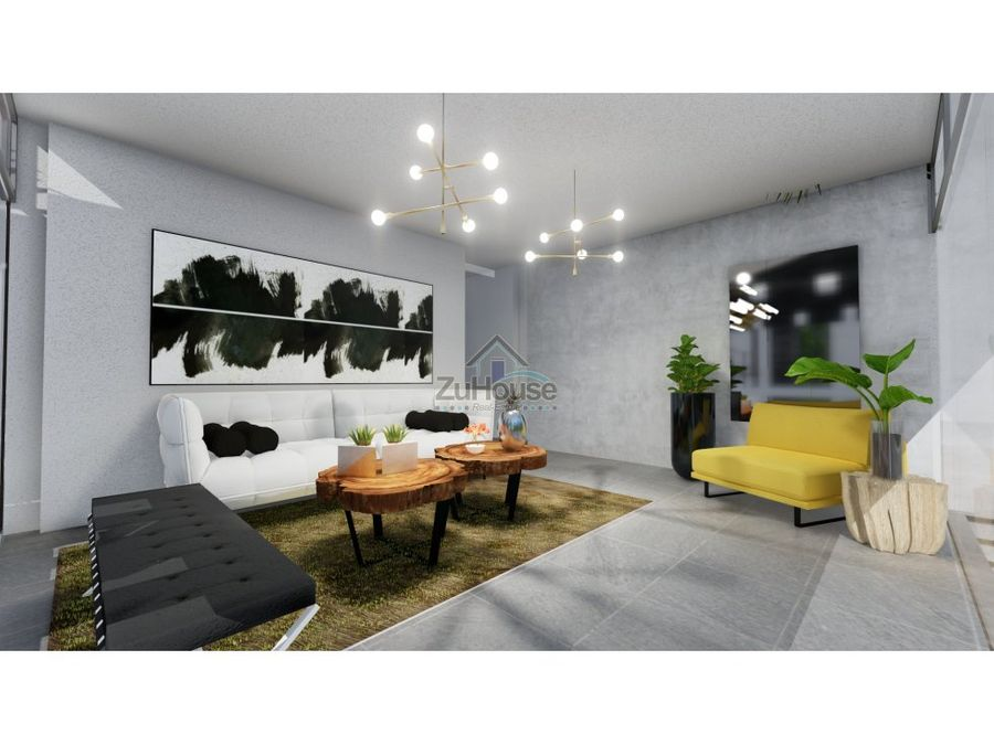 apartamento en venta reparto panorama stgo za17 a
