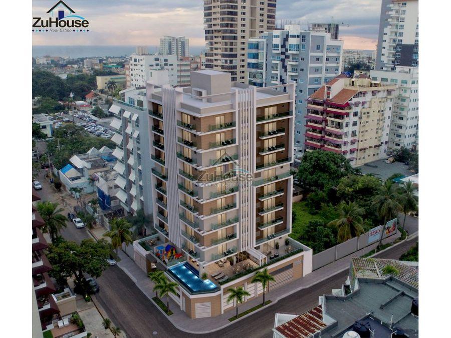 torre de apartamentos en venta en santo domingo