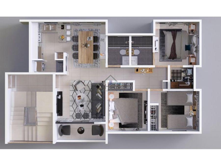 apartamento en venta en santiago wpa107 b