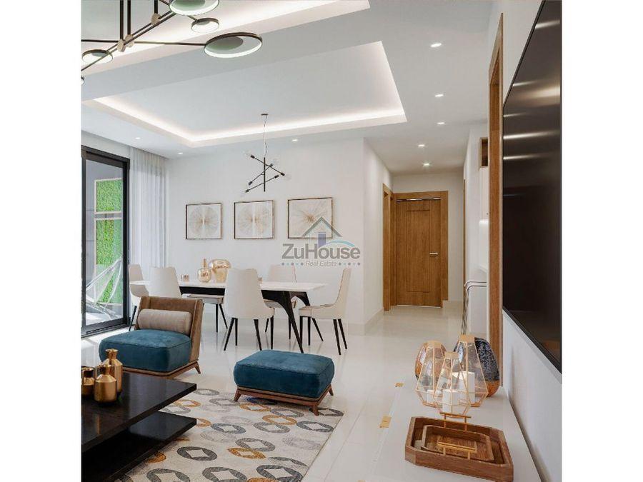 apartamento en venta en el dorado santiago de los caballeros wpa71 d